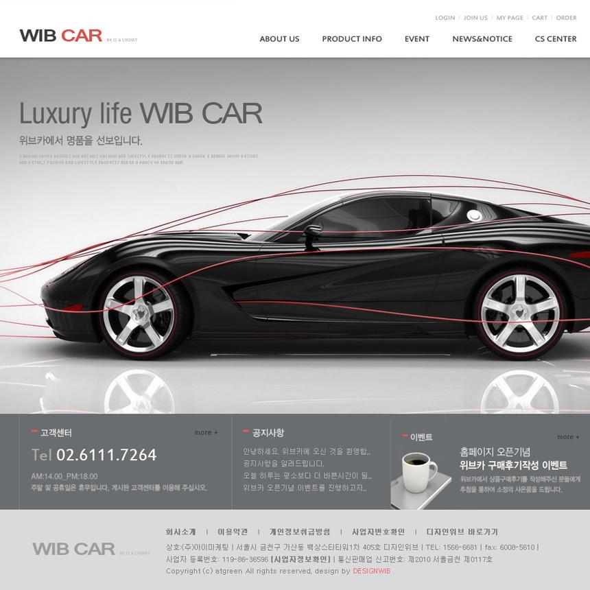 기업형 홈페이지